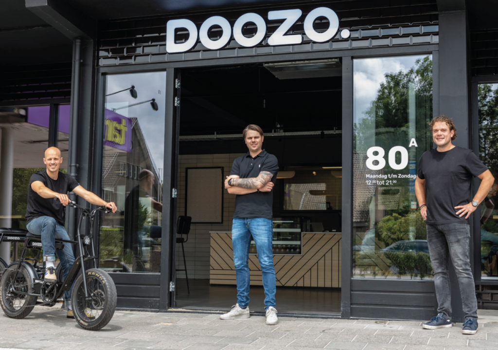 Het team van Doozo